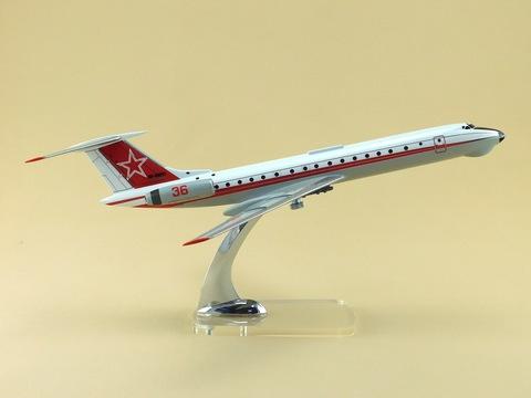Модель самолета Ту-134Ш (М1:100, ВКС России)