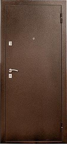 Дверь входная УД-118 стальная, венге, 2 замка, фабрика Уральские двери
