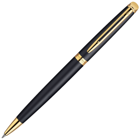 Waterman Hemisphere - Matt Black GT, шариковая ручка, M