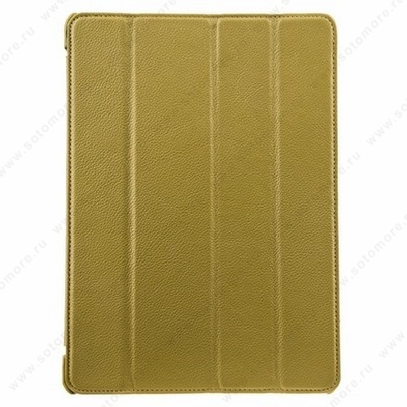 Чехол-книжка Melkco для Apple iPad Air 1 Leather Case Slimme Cover Ver.1 (Yellow LC)