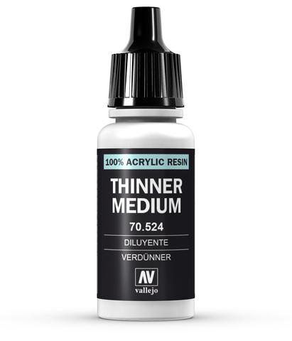 Thinner 17 ml.