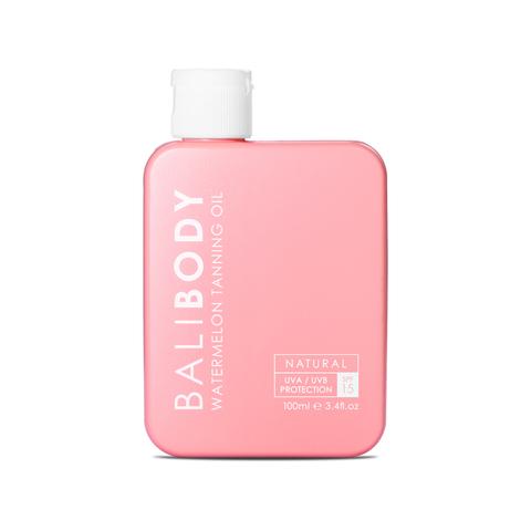 BALIBODY Масло для усиления загара с экстрактом арбузных семян с защитой SPF 15 Watermeleon Tanning Oil