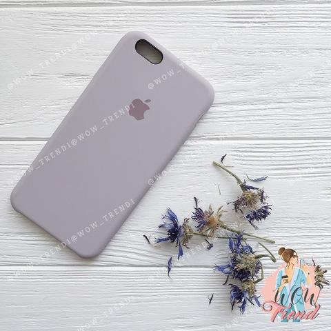 Чехол iPhone 6+/6s+ Silicone Case /lavender/ лаванда original quality