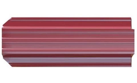 Штакетник металлический Евротрапеция (RAL3005(Красное вино))