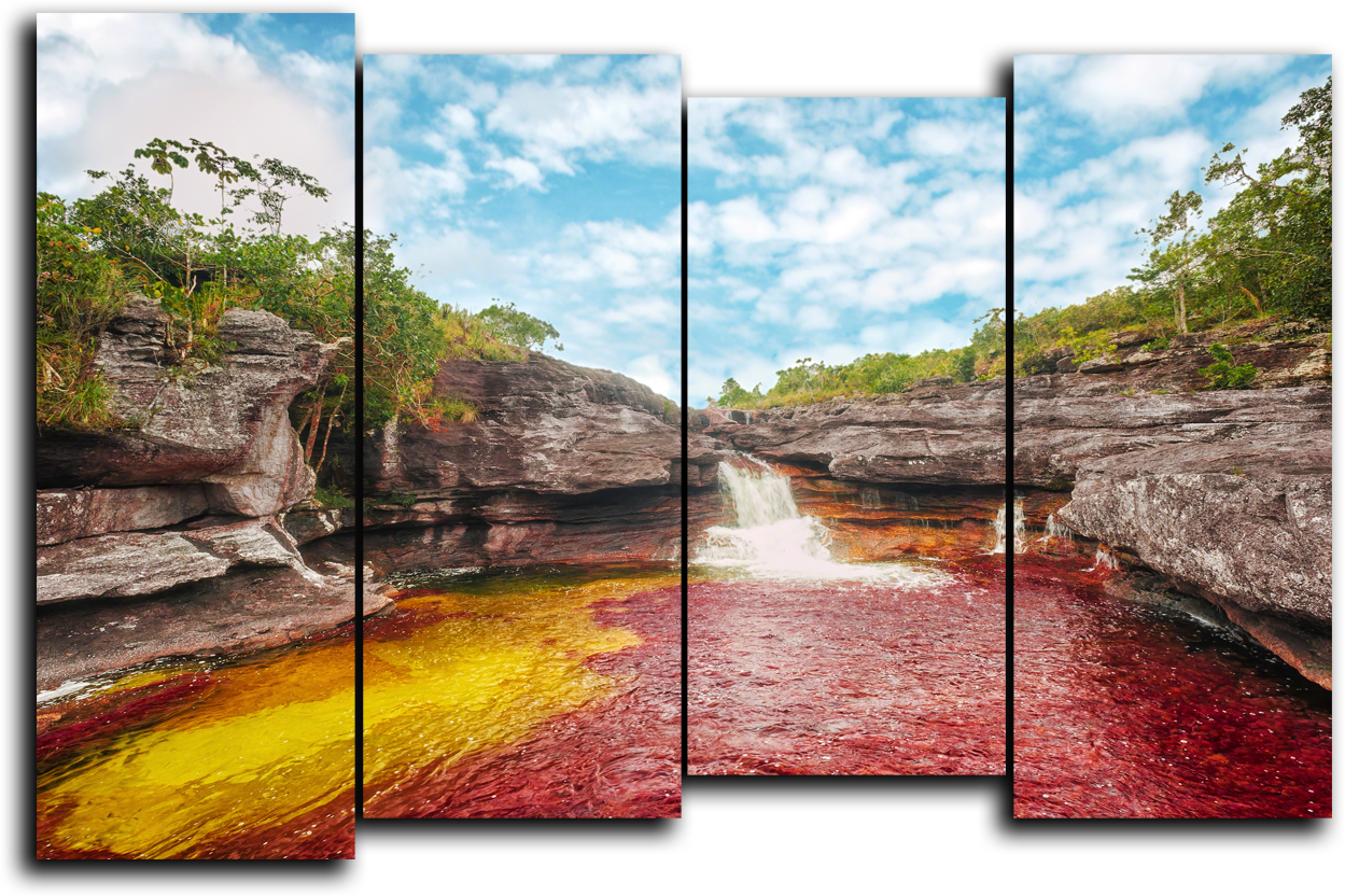 "Природа Модульная картина ""Река пяти цветов"" М925.png"