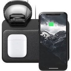 Беспроводная зарядка Nomad Base Station Apple Watch Edition Stand + USB; Black