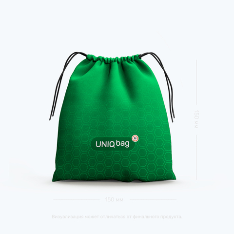 Meeple House.Uniq Bag 15 Green