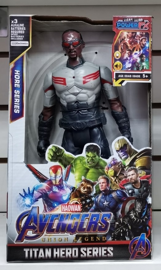 Черная молния супергерой 30 см
