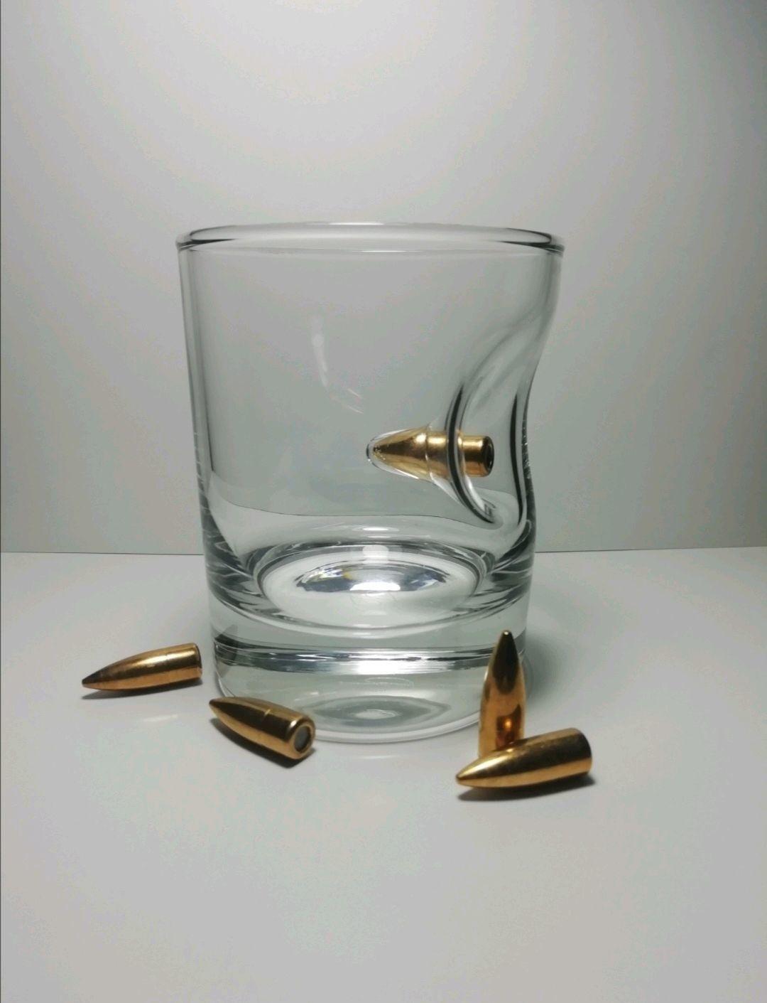 Стакан для виски с пулей «Caliber»