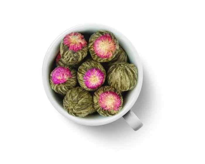 Чай травяной Gutenberg Жасминовый персик Дракона, 500 г (Гутенберг)