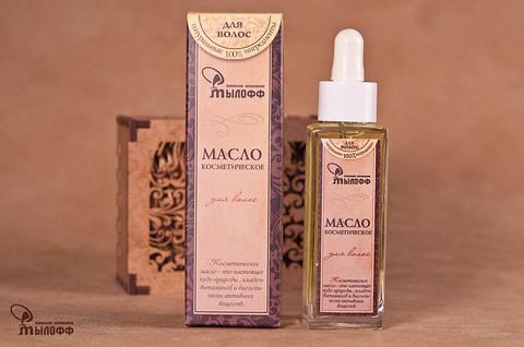 Масло косметическое  Для волос с экстрактами лекарственных трав и витамином Е, 50 мл ТМ Мылофф