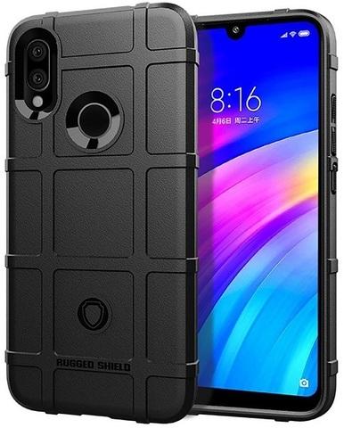 Чехол Xiaomi Redmi 7 (Redmi Y3) цвет Black (черный), серия Armor, Caseport