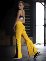 Женские лосины Nebbia 70's Fancy flared pants 667 yellow