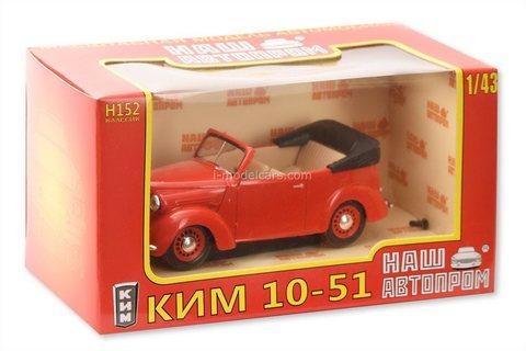 KIM-10-51 cabriolet 1:43 Nash Avtoprom