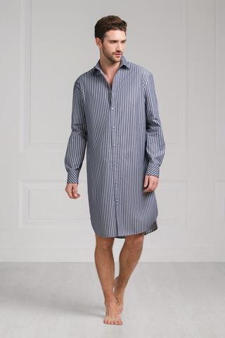Мужская домашняя рубашка 61409  Laete