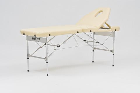 Массажный стол складной алюминиевый JFAL02 (3 секции) - фото