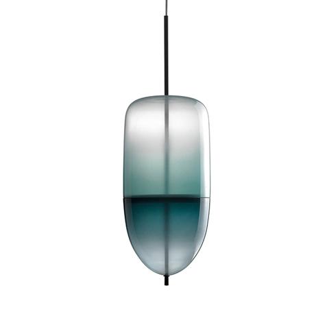 Подвесной светильник копия Flow[T] S5 by Nao Tamura (Wonderglass) (синий)