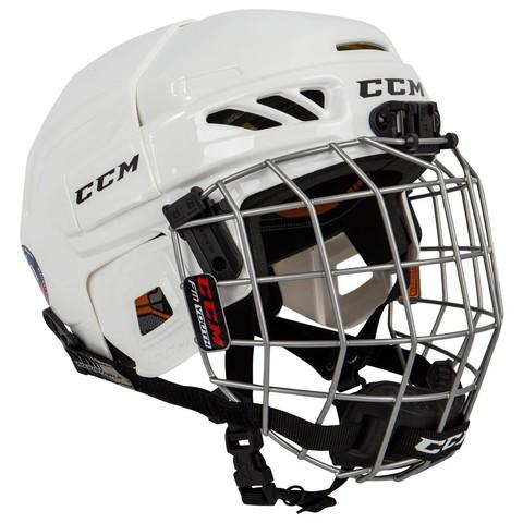 Шлем с маской CCM FITLITE 3DS YTH красный