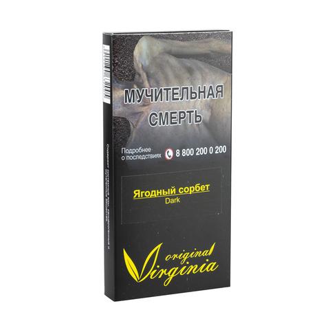 Табак Virginia Dark Ягодный сорбет (Сливки Ягоды Дыня) 20 г
