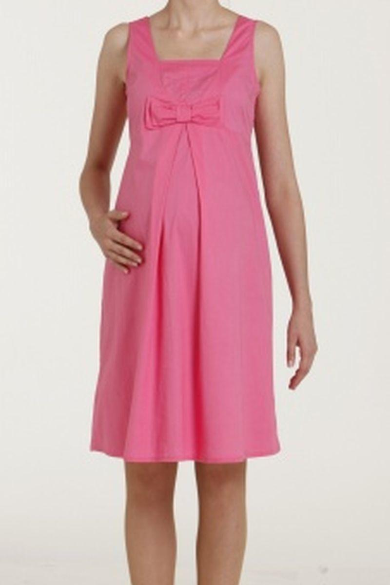 Фото платье для беременных GEBE, трикотажное от магазина СкороМама, розовый, размеры.