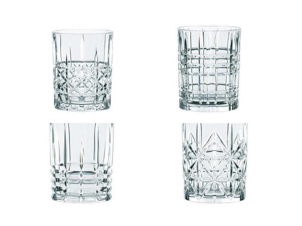 Фото - Набор хрустальных стаканов для виски Nachtmann Highland 4 шт, 345 мл стакан низкий highland 345 мл серый 97443 nachtmann