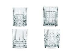 Набор из 4 хрустальных стаканов для виски HIGHLAND, 345 мл, фото 1