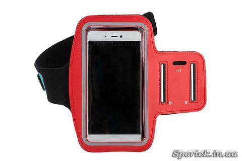 Чохол для смартфона на руку (червоний)