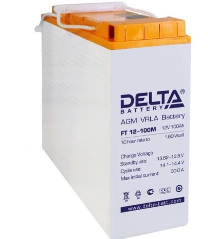 Аккумуляторная батарея Delta FT 12-100 M