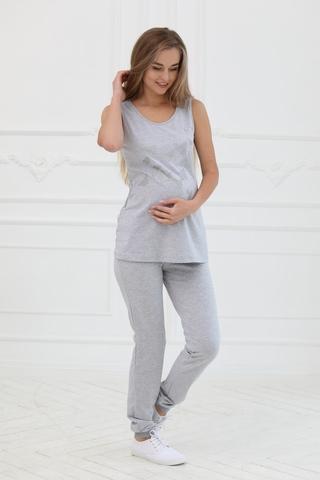 Брюки для беременных 10195 серый