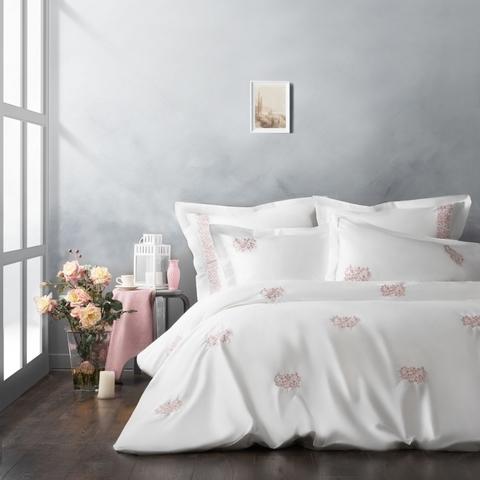 Комплект постельного белья сатин Сэлмон розовый
