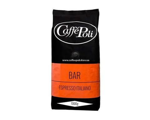 Кофе в зернах Poli Bar, 1 кг (Каффе Поли)