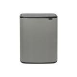 Мусорный бак Touch Bin Bo 2 х 30 л, артикул 221460, производитель - Brabantia