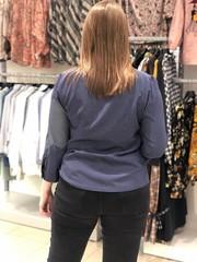 Блузка Gracjia рубашка карманы пшено 3/4 (В20)
