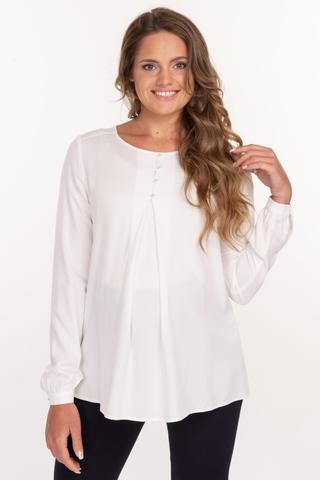 Блузка для беременных 11876 молочный