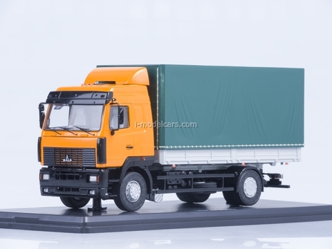 MAZ-5340 orange-green 1:43 Start Scale Models (SSM)