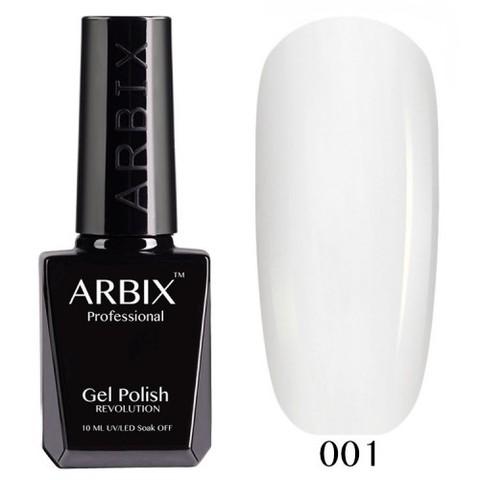 Гель-лак Arbix Белый №001