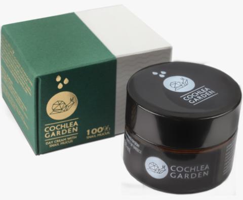 Дневной крем с секретом улитки и мастикой Cochlea Garden