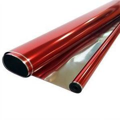 Пленка Металл 200гр / рулон 70 см * 7,1 м 40 мкм (Красная)