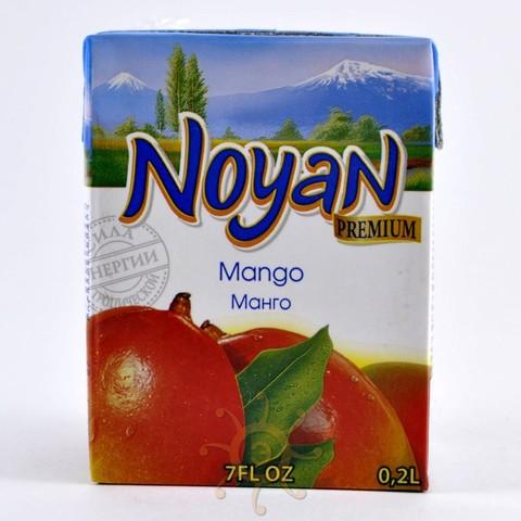 Нектар манговый Noyan, 200мл
