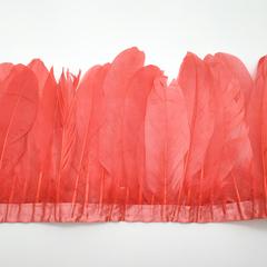Тесьма  из перьев гуся h- 15-20см.,  (выбрать цвет)