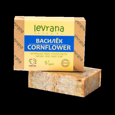Levrana Натуральное мыло ручной работы Василёк, 100гр