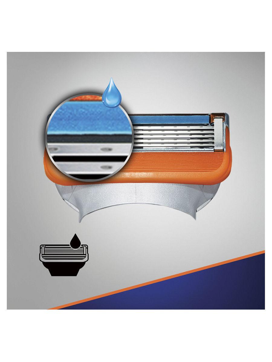 Gillette Fusion Power комплект (5х8) 40шт. (Цена за 1 пачку 1276р.)