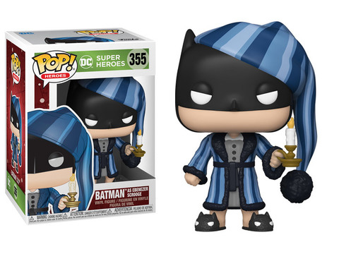 Funko Pop! || DC Christmas Бэтмен - Эбенезер Скрудж