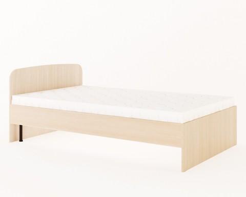 Кровать КР-02 дуб беленый