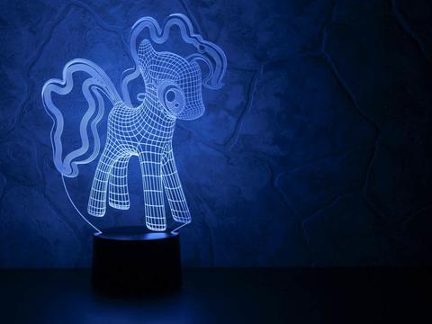 3D светильник Little Pony
