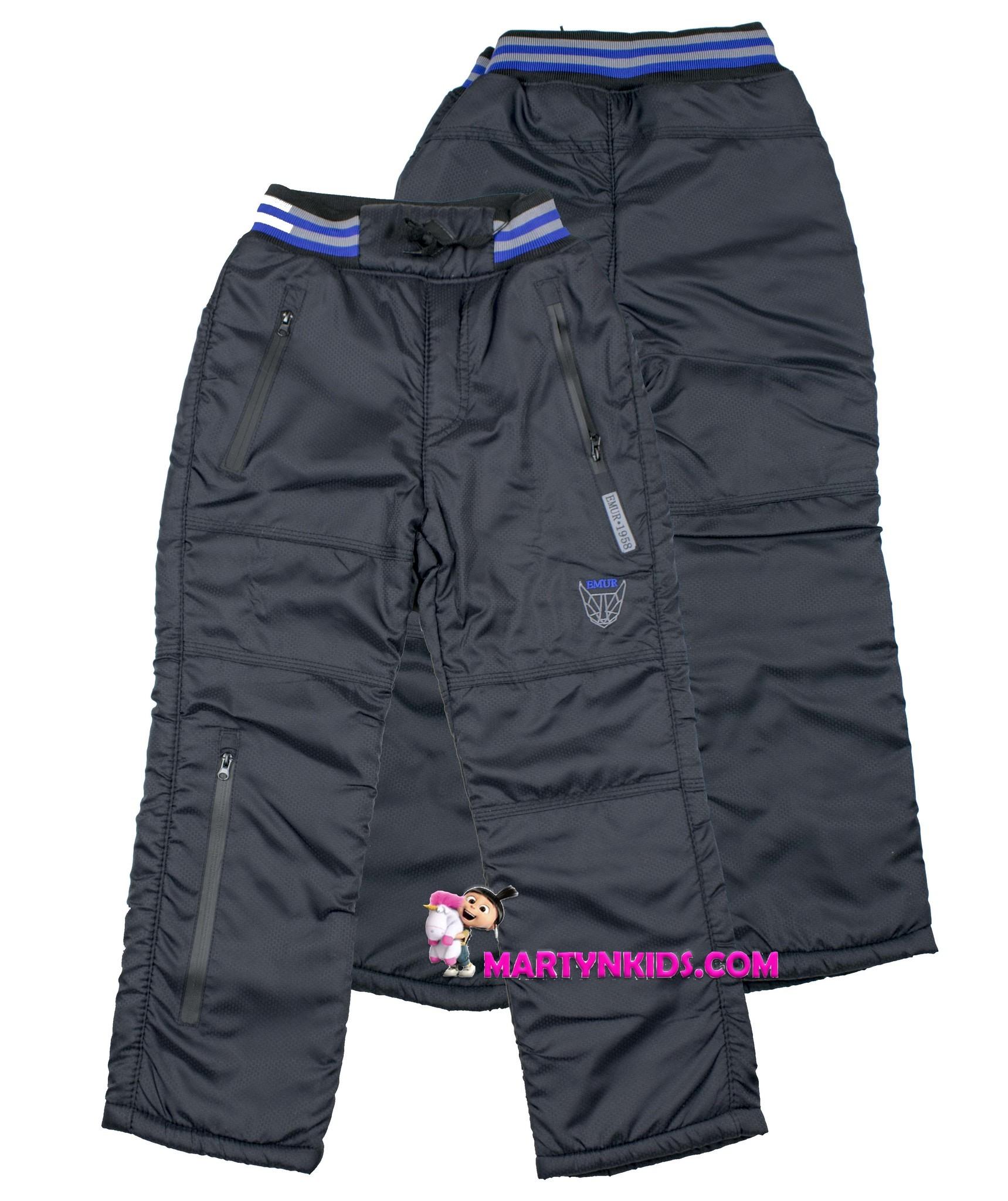 2867 зима штаны рисунок  теплые 051