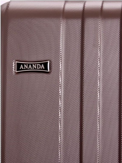 Чемодан Ananda 533 Коричневый L