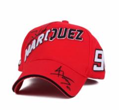 Бейсболка Marcus (Кепка красная Маркус)