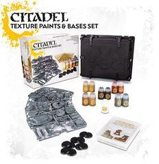 Citadel Texture Paints & Base Set