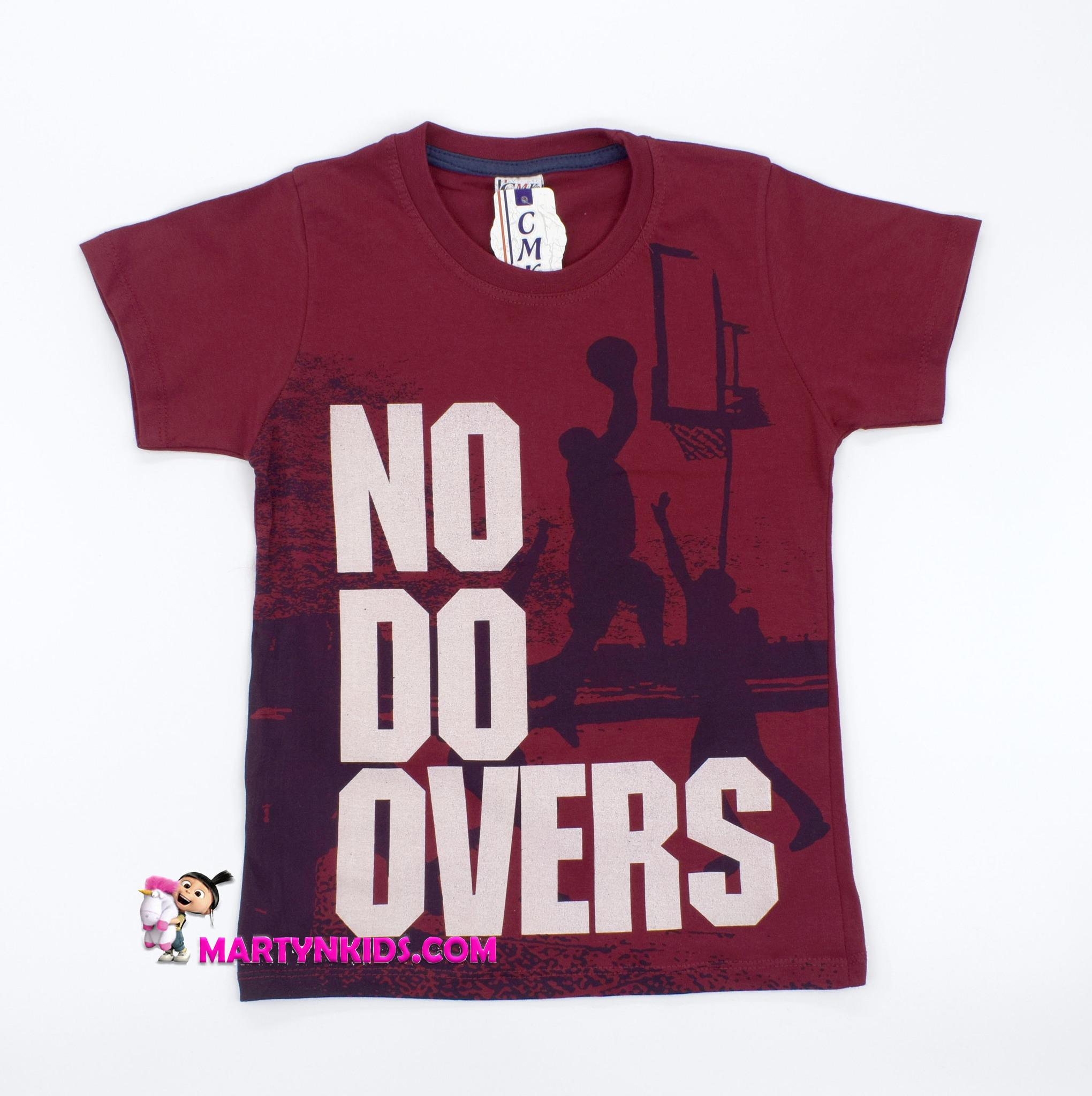 2327 футболка  NO DO OVERS